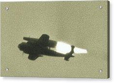 German Wwii Ramjet Bomber In Flight Acrylic Print