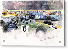Germany Gp Nurburgring 1969 Acrylic Print