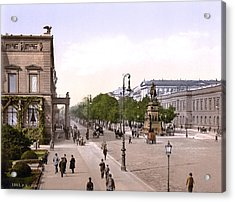 Germany, Unter Den Linden, Berlin Acrylic Print by Everett