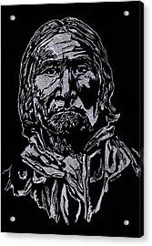 Geronimo Acrylic Print by Jim Ross