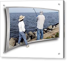 Get The Net Acrylic Print by Brian Wallace
