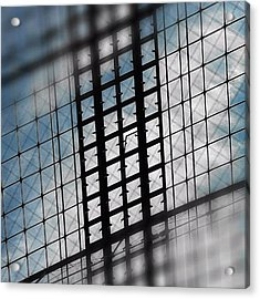 Get The Window Closed! #berlin #central Acrylic Print