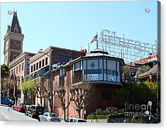 Ghirardelli Chocolate Factory San Francisco California . 7d14093 Acrylic Print by Wingsdomain Art and Photography
