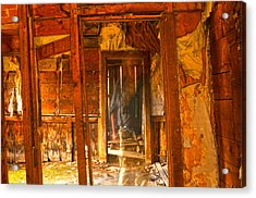 Ghost In Old Building Acrylic Print