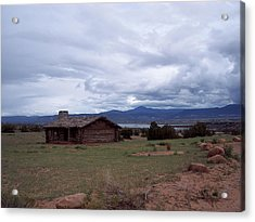 Acrylic Print featuring the photograph Ghost Ranch Vista by Susan Alvaro