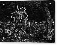 Ghost Rider Acrylic Print by Kim Henderson