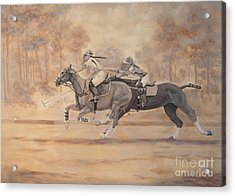Ghost Riders Acrylic Print by Roena King