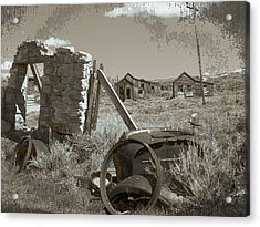 Ghost Town Series 3 Acrylic Print by Philip Tolok