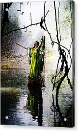 Ghostly Angel Acrylic Print