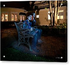 Ghostly Cousins Acrylic Print by Christopher Holmes