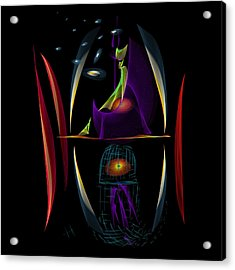 Ghoul In My Head Acrylic Print