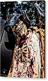 Ghoulie Acrylic Print by Christopher Holmes