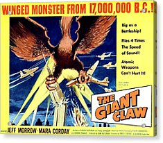 Giant Claw, The, 1957 Acrylic Print by Everett