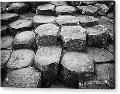 Giants Causeway Stones Northern Ireland Acrylic Print by Joe Fox