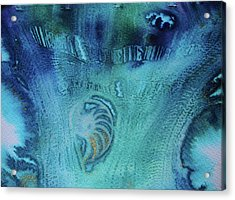 Acrylic Print featuring the painting Gift From The Sea by Mary Sullivan