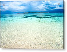 Acrylic Print featuring the photograph Gili Meno - Indonesia. by Luciano Mortula