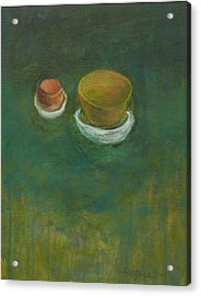 Acrylic Print featuring the painting Ginger Pot by Kathleen Grace