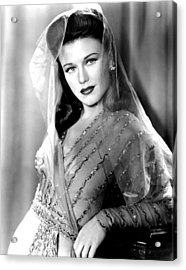 Ginger Rogers, In A Paramount Studios Acrylic Print by Everett