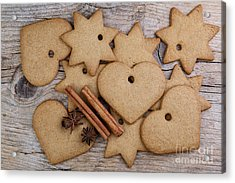 Gingerbread Acrylic Print by Nailia Schwarz