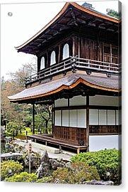 Ginkakuji Temple Acrylic Print