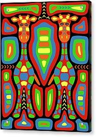 Giraffe Mola Acrylic Print