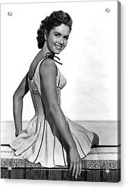 Give A Girl A Break, Debbie Reynolds Acrylic Print by Everett