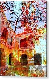 Give Me Room To Breathe Acrylic Print by Fania Simon
