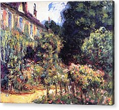 Giverny Acrylic Print by Claude Monet