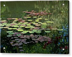 Giverny Lily Pads Acrylic Print