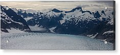 Glacial Panorama Acrylic Print by Mike Reid
