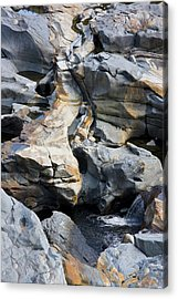Glacial Pothole II Acrylic Print by Michael Friedman