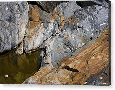 Glacial Pothole Acrylic Print