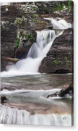 Glacial Waterfalls Acrylic Print by Scotts Scapes
