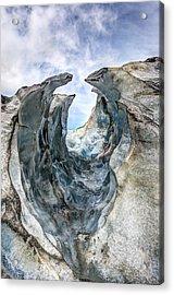 Glacier Impression Acrylic Print