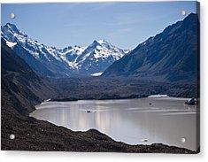 Glacier Lake Acrylic Print by Graeme Knox