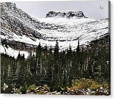 Glacier Park Bowlrock Acrylic Print by Susan Kinney