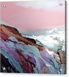 Glacier Sunrise Acrylic Print