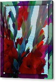 Acrylic Print featuring the digital art Glad by Richard Laeton
