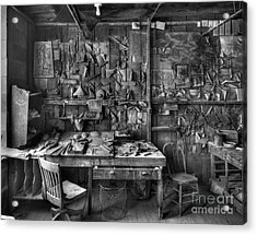 Gladding Mcbean Engineer's Room Acrylic Print by Ron Schwager