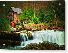 Glade Creek Mill 2 Acrylic Print