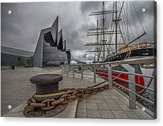 Glasgow Transport Museum  Acrylic Print by Fiona Messenger