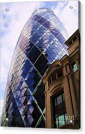 Glass And Stone Acrylic Print by John Clark