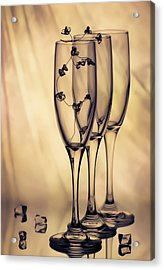 Acrylic Print featuring the photograph Glass by Anna Rumiantseva