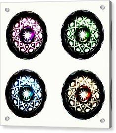 Glass Bowl. #glass #bowl #bright Acrylic Print