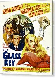 Glass Key, The, Brian Donlevy, Alan Acrylic Print by Everett