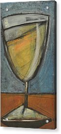 Glass Of White Acrylic Print by Tim Nyberg