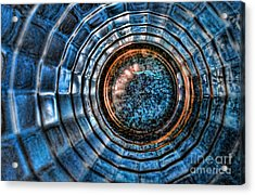Glass Series 3 - The Time Tunnel Acrylic Print