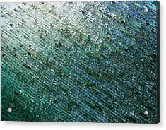 Glass Strata Acrylic Print by Charlie and Norma Brock