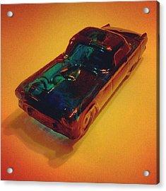 Glass T-bird Car Acrylic Print