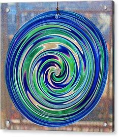 Glass Twirl Acrylic Print